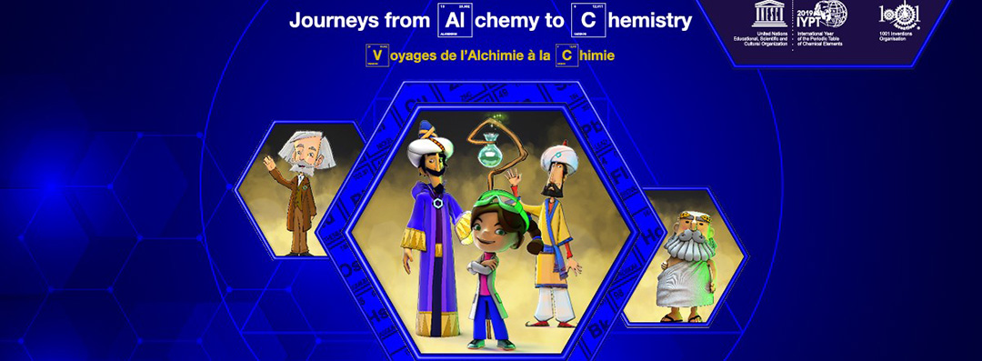 UNESCO and 1001 Inventions join forces for 2019 Year of Periodic Table and Chemical Elements