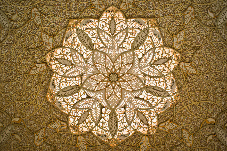 10 Stunning Ceilings From The Wonders Of Islamic