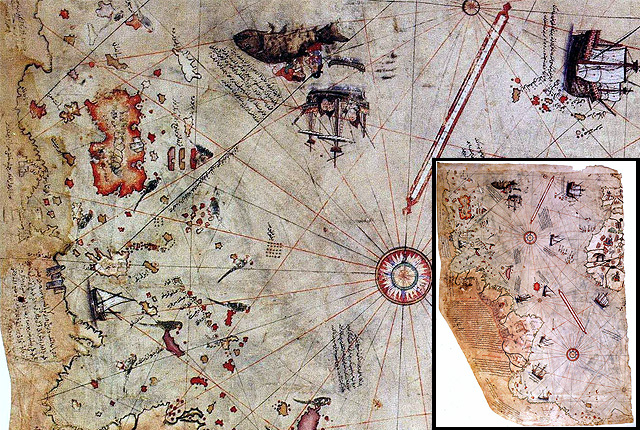 Top 10 Maps from Muslim Civilisation when North was South and